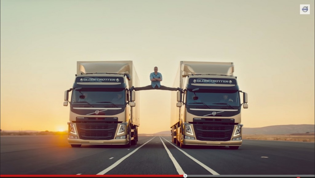 Viral Video - Volvo Trucks - The Epic Split feat. Van Damme (Live Test 6)
