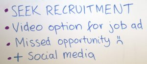 A SEEK recruitment strategy without video is a missed opportunity